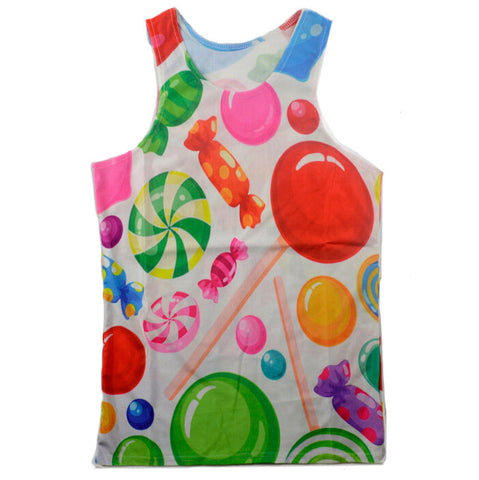 Lollipop Candy Tank top,- Aesthetic best website to buy quality replica ua adidas yeezy boost 350 v1 and v2 sneakers