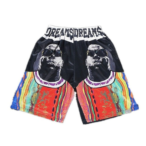 Biggie dreams Shorts,- Aesthetic best website to buy quality replica ua adidas yeezy boost 350 v1 and v2 sneakers