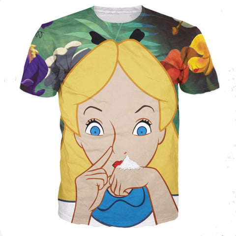 Alice Tshirt,- Aesthetic best website to buy quality replica ua adidas yeezy boost 350 v1 and v2 sneakers