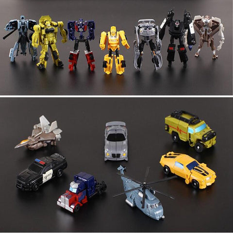 7 Style transformer toy card / action figures - top quality replica designer rolex patek  AP hublot watches and bust down iced out diamond jewelry