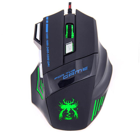 usb optical Laptop PC rugged gaming mouse