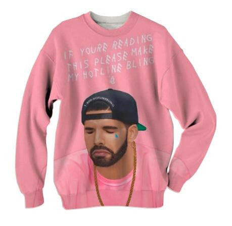 "Drizzy ""If You Are Reading This.."" Unisex Sweatshirt,- Aesthetic best website to buy quality replica ua adidas yeezy boost 350 v1 and v2 sneakers"