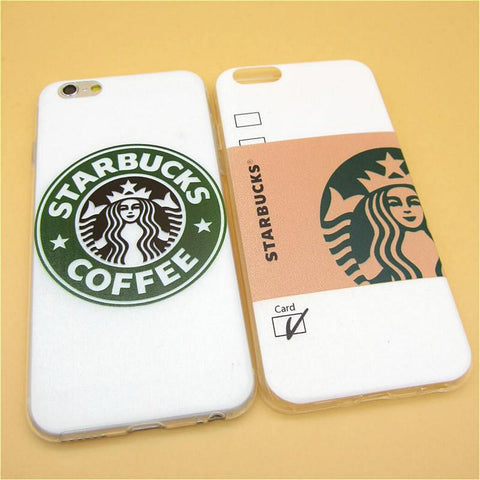 Thin starbucks® coffee cup iphone phonecover case