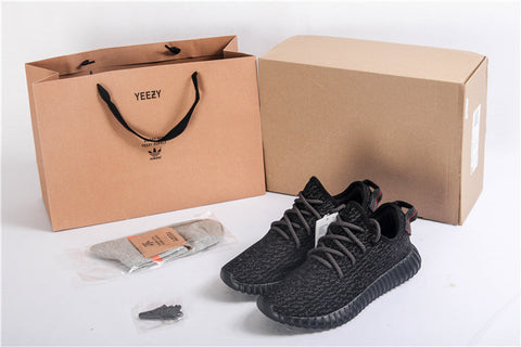 Adidas X Yeezy Boost 350 V1 Pirate Black,- Aesthetic best website to buy quality replica ua adidas yeezy boost 350 v1 and v2 sneakers
