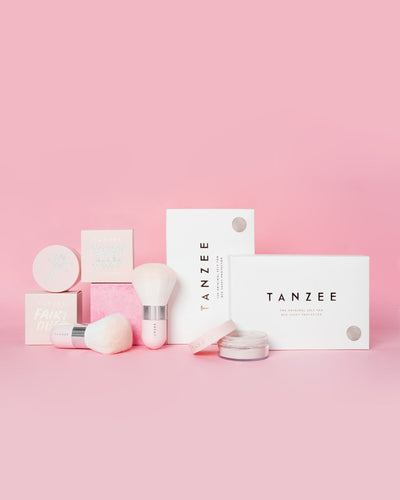 Tanning Besties Bundle - 2 Tanzee + 2 Fairy Dust + 2 Tanuki brush