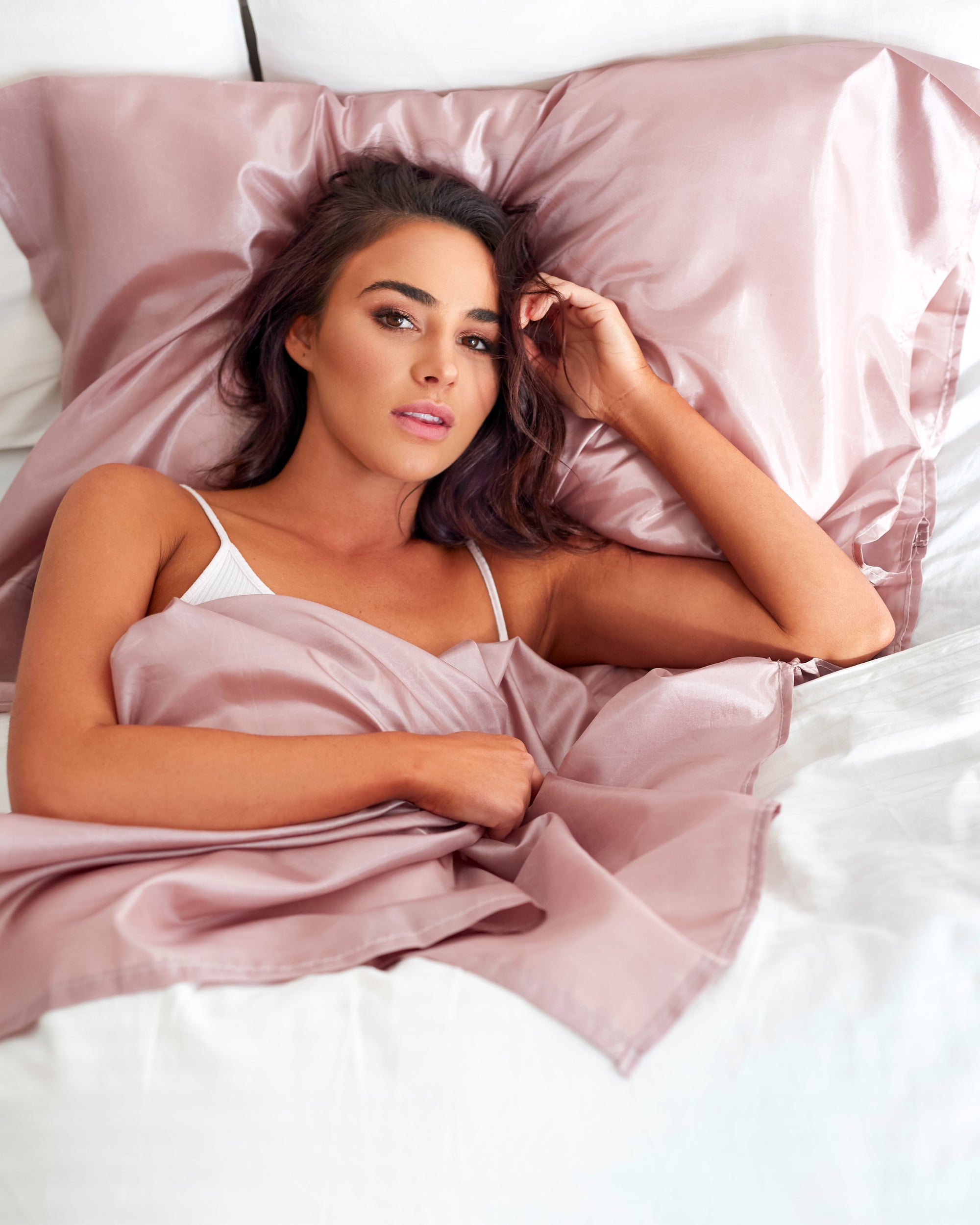 Rose Gold Tanzee (Pre order) | Self Tan Bed Sheet Protector