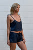 Cropped Camisole in Sage or Navy