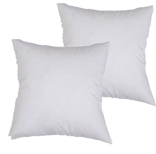 40cm Polyester Cushion Insert (2 Pack)
