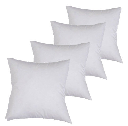 40cm Polyester Cushion Insert (4 Pack)