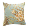 Beautiful cushion using Magnolia Home Fashions St Thomas Spa Indoor fabric