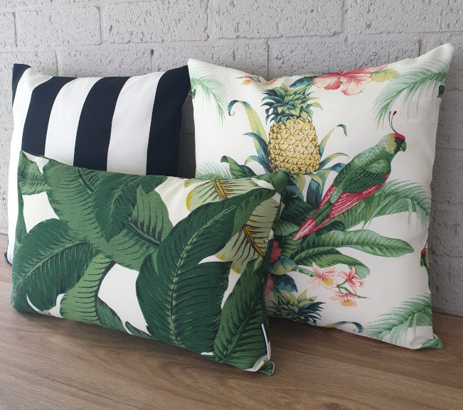 Tropical Outdoor Cushion Collection