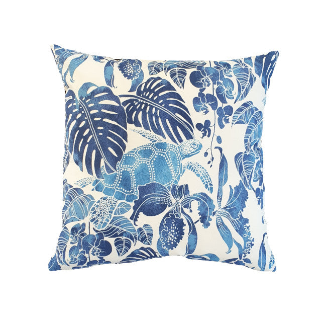 Blue Turtle Outdoor Outdoor Cushion Cover
