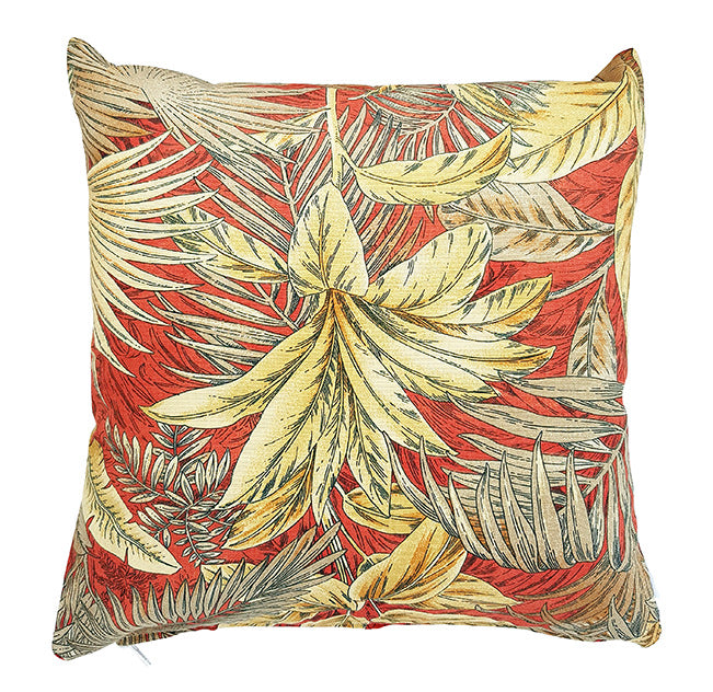 Tommy Bahama Golden Palms indoor cushion cover