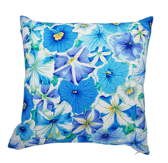 Gorgeous Kaffe Fassett Petunias indoor cushion cover