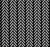 Black and White Herringbone Outdoor Cushion Cover