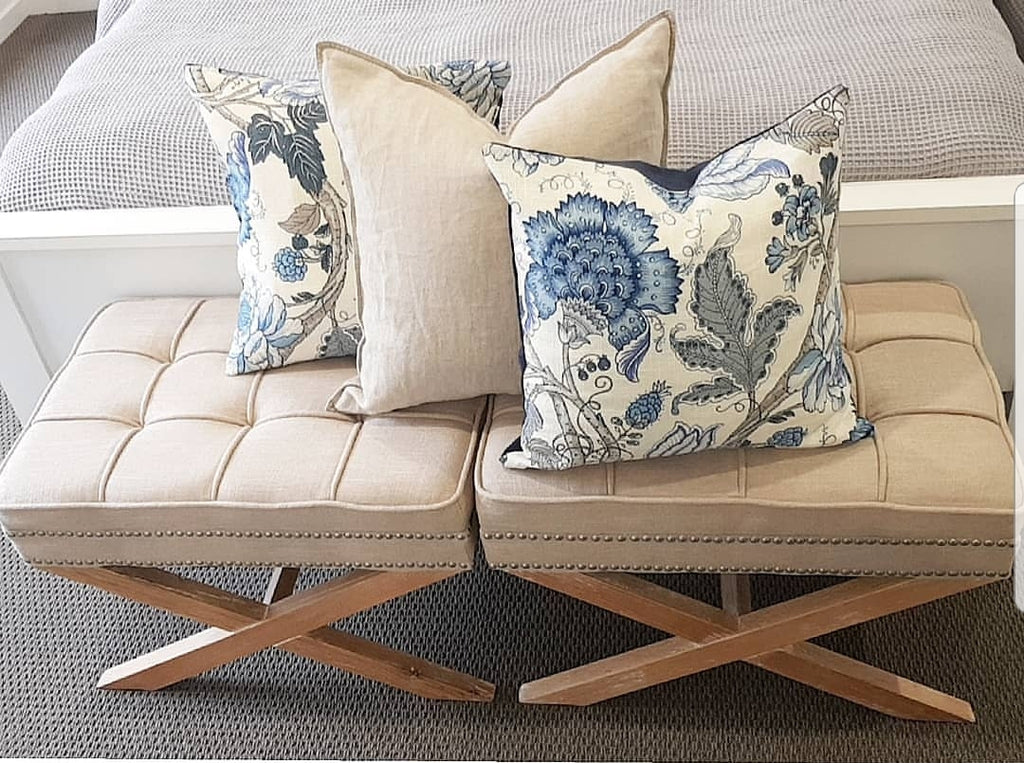 Maison Baltic Floral Hamptons Style cushion cover