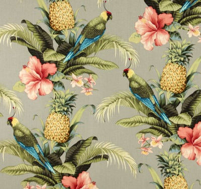 Tommy Bahama Indoor Outdoor Beach Bounty Tangelo Fabric