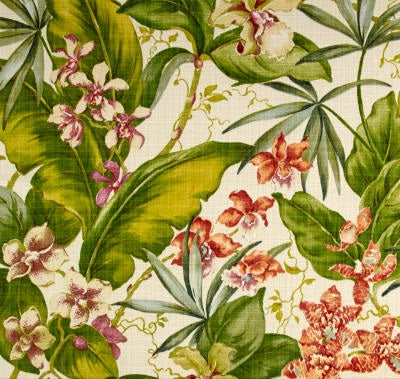 Tommy Bahama Indoor/Outdoor Paradise Point Fresco Fabric per meter