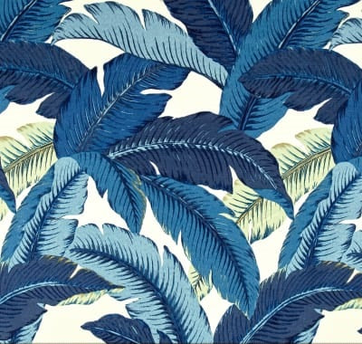 Tommy Bahama Indoor Outdoor Swaying Palms Indigo Fabric