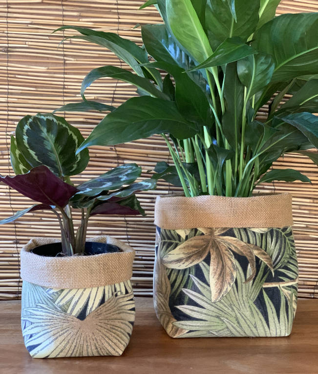 Bahamian Breeze Fabric Pot Holder