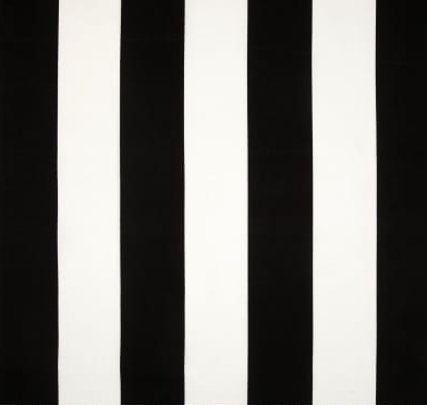 black and white wide stripe outdoor cushion cover