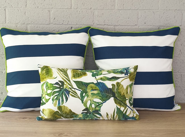 Coastal Stripe Outdoor Cushion Collection