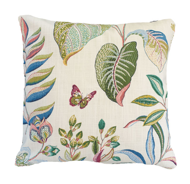 Colourful Floral Indoor Cushion Cover