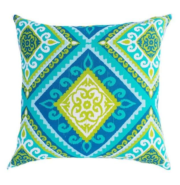 Green Diamond Outdoor Cushion Cover