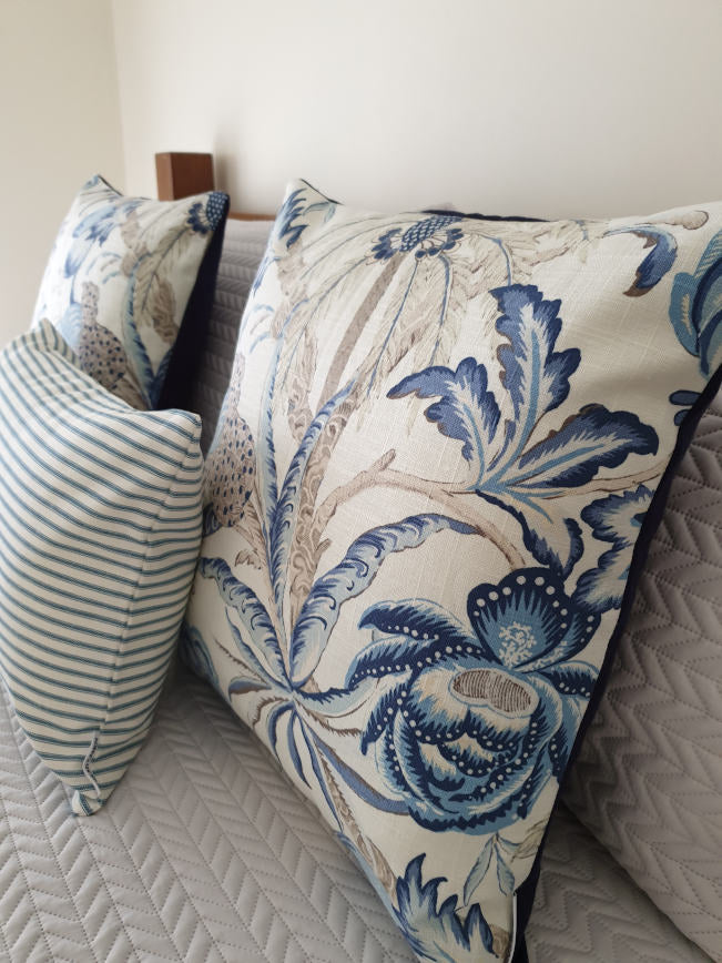 Hamptons Palm Indoor Cushion Collection