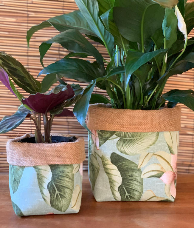 Jamaica Mist Fabric Pot Holder