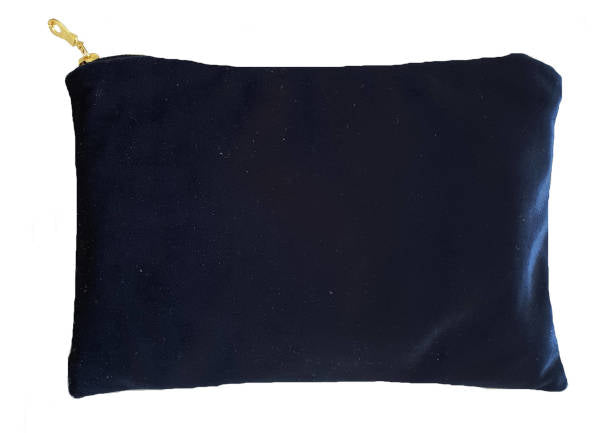 Royal Blue Velvet Clutch