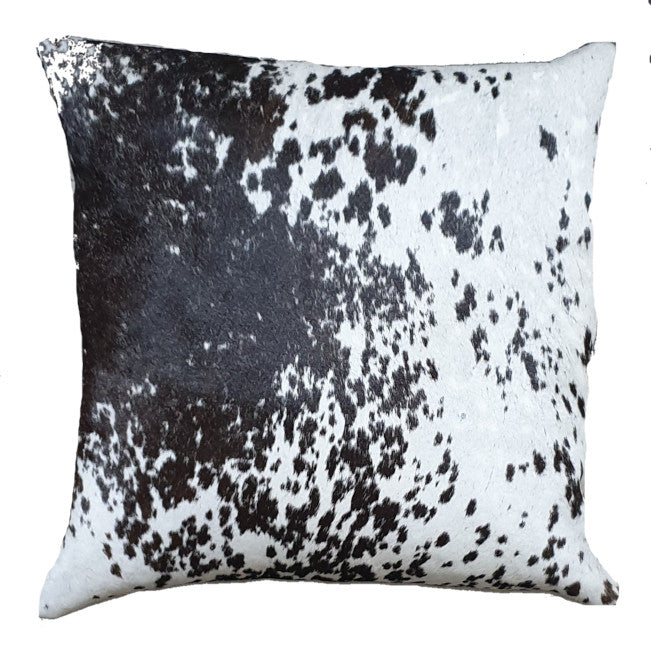 Salt and Pepper Cowhide Cushion 45cm x 45cm