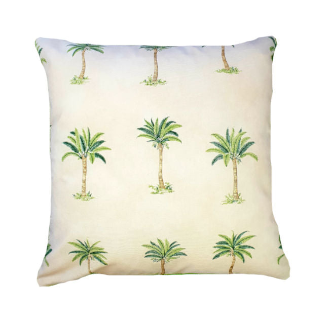 Tahitian Palms Indoor Cushion Cover