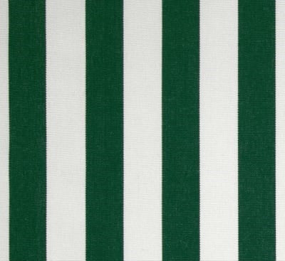 Sunbrella Maison Stripe Forest Green Outdoor Cushion Cover