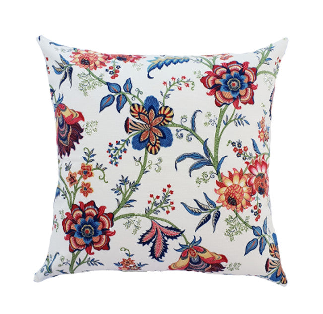 Gorgeous Hamptons Spring Flowers Indoor cushion cover