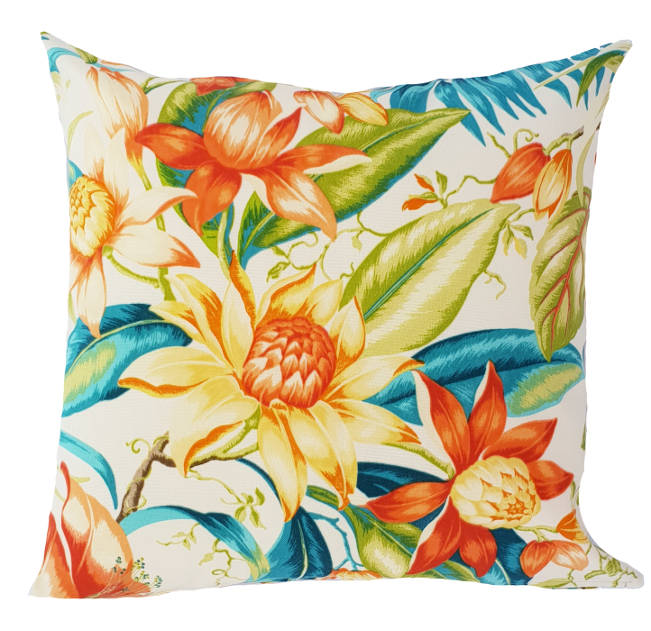 Floral Golden Glow Indoor/Outdoor Cushion Cover