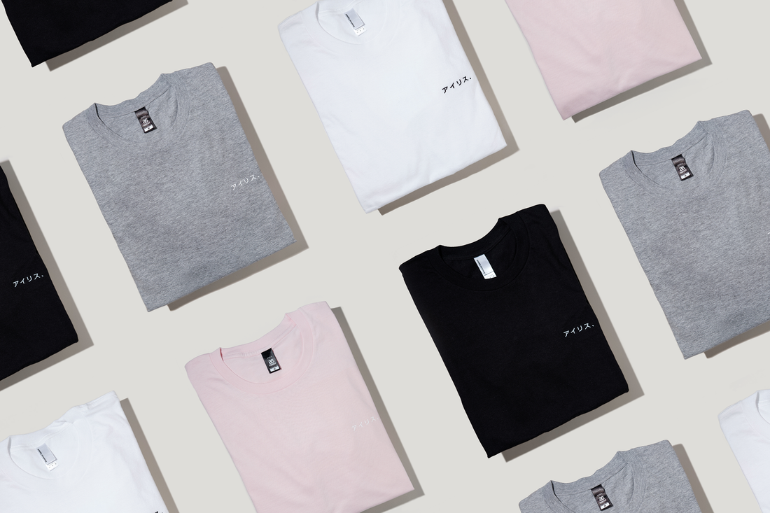 The basic tee, a staple piece in every wardrobe