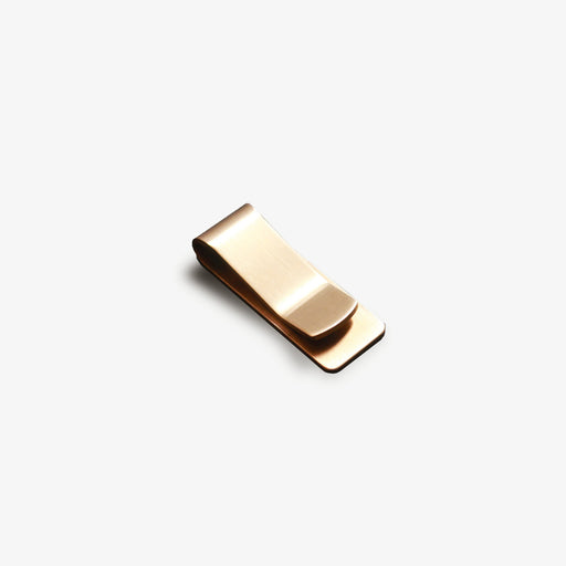 basic stainless steel brass money clip
