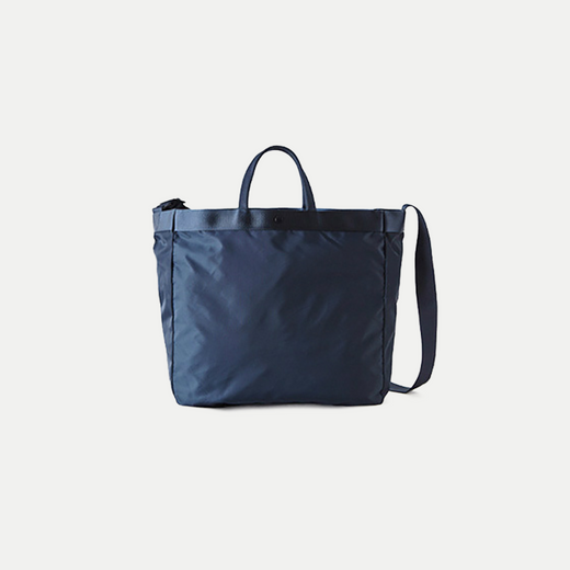 basic nylon tote bag