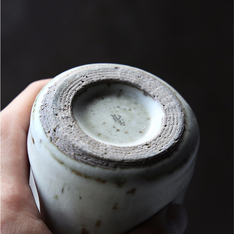japanese style hand made ceramic mug