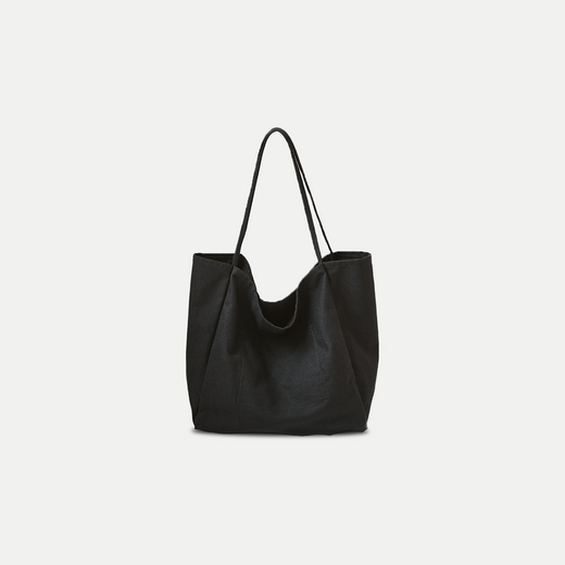 simple oversized canvas tote bag