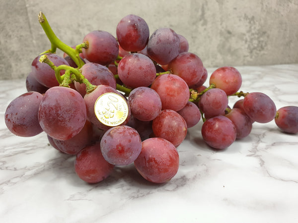 USA sweet celebration red seedless grapes