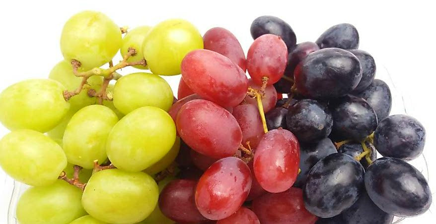 Seedless Grape Bundle (200g of Red, Green and Black Seedless Grapes!)