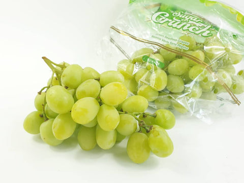 usa sugar crunch green seedless grapes