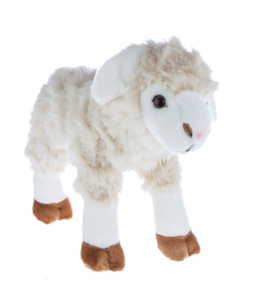Barbarella - Stuffed Lamb / Sheep Animal Toy