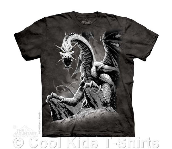 Black Dragon Kids Tie Dye T-Shirt
