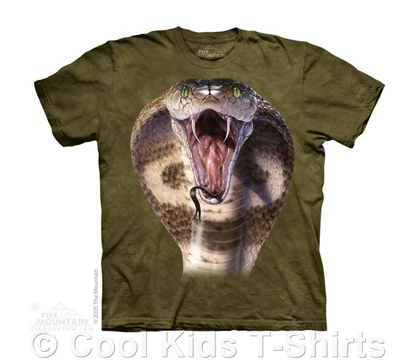 Cobra Head Kids Tie Dye T-Shirt