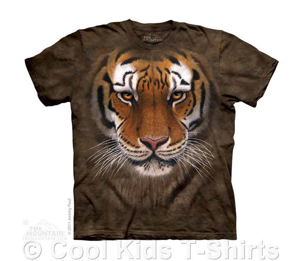Tiger Warrior Kids Tie Dye T-Shirt