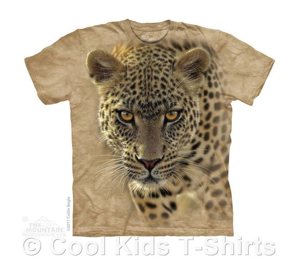 On The Prowl Leopard Kids Tie Dye T-Shirt