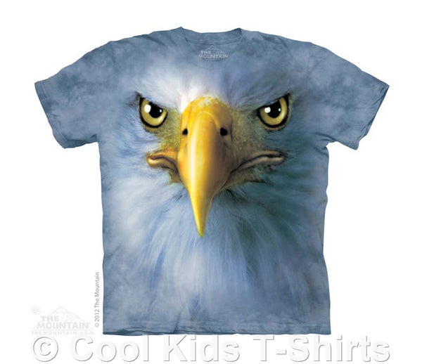 Eagle Face Kids Tie Dye T-Shirt